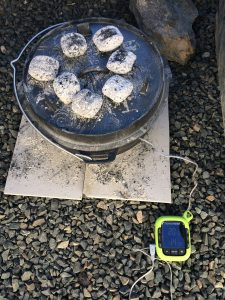 Pulled Pork: Dutch Oven mit Thermometer