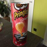 Frühlingsdekoration: Vorbereitung Chipsdose