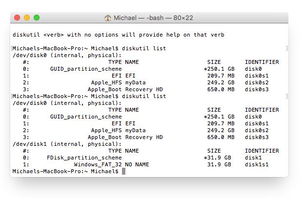 Raspbian installieren: SD vorbereiten