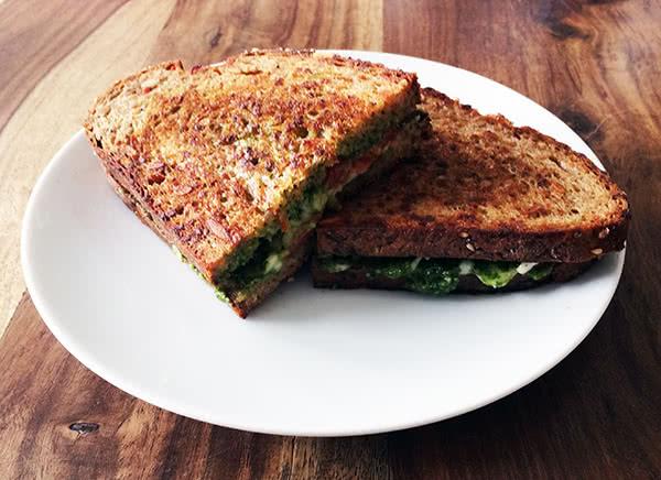 Italian-Style Grilled Cheese Sandwich Recipe — Dishmaps