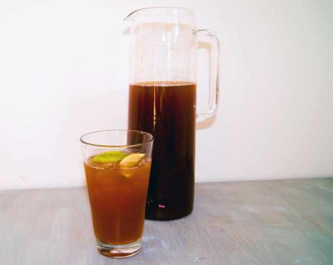 Durstlöscher: Eistee