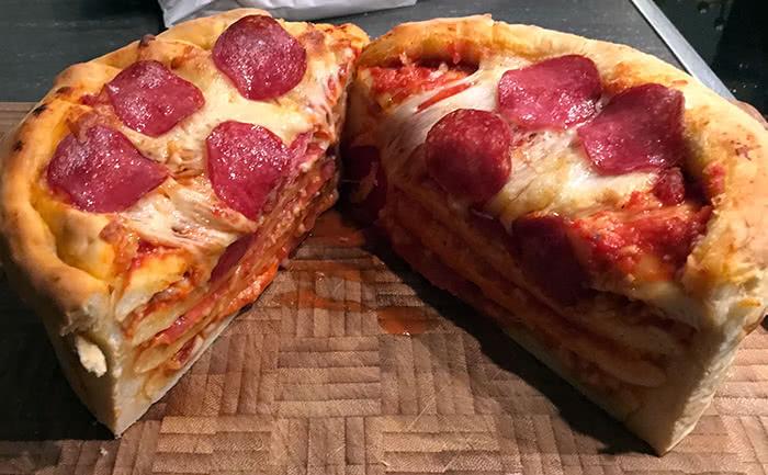 herzhafte Kuchen - Pizzatorte - Final
