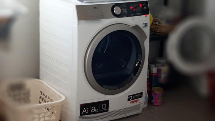 Test: Wärmepumpentrockner AEG 8000 Series