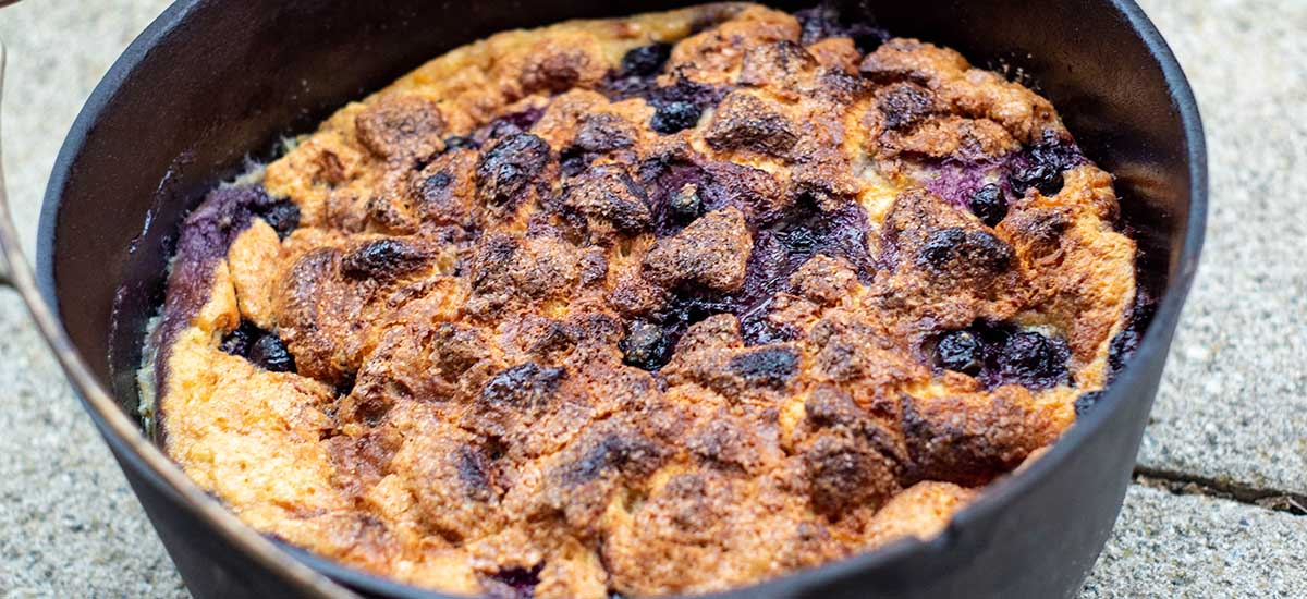 Blueberry Bread Pudding – einfach genial