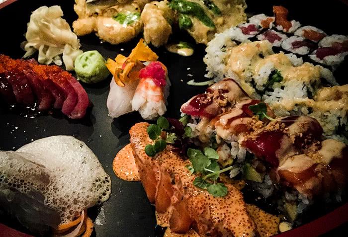 """Sushi im """"Ono"""" by Steffen Henssler"""