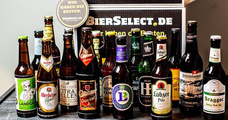 BierSelect: das Bierpaket Deutschland