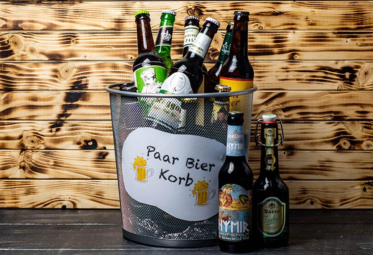BierSelect : DIY PaarBierKorb