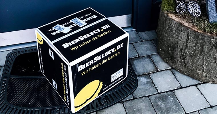 BierSelect Paketlieferung