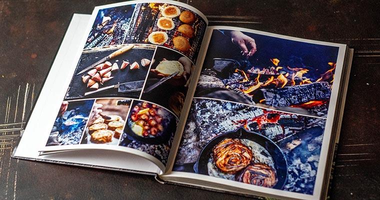 vegetarische Burger: Blick ins Buch