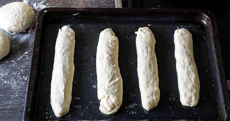 Sandwichbrot: Teigrohlinge