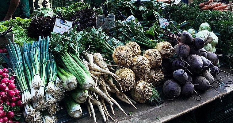 Münstermarkt Freiburg - Gemüse