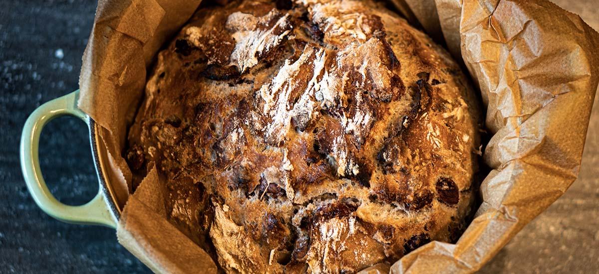 Brot backen leicht gemacht  – no knead bread