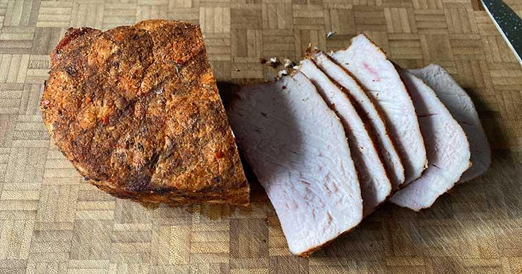 Cuban Sandwich: selbst gegarter Schweinebraten