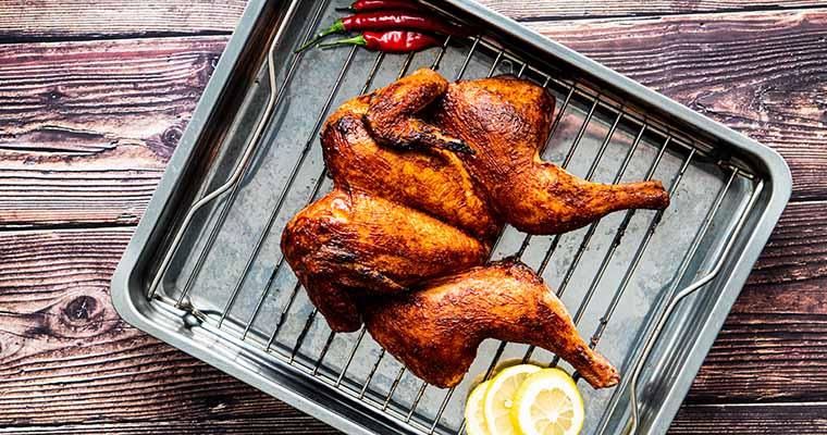 fertiges Road Kill Chicken